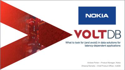 20210623 VoltDB Data Solutions Webinar Image