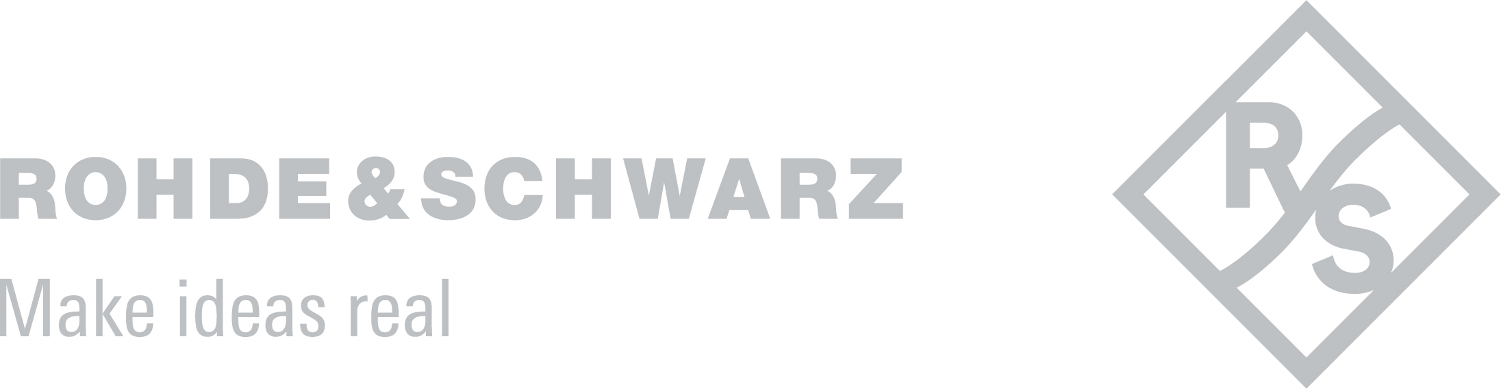 Rohde & Schwarz silver logo